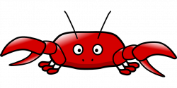 Crab Clipart crustacean - Free Clipart on Dumielauxepices.net