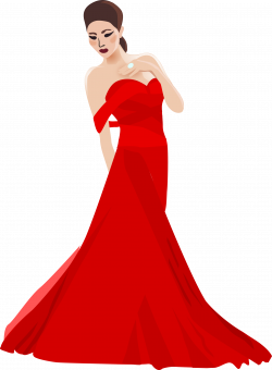 Gown Clipart Woman Dress#3575584