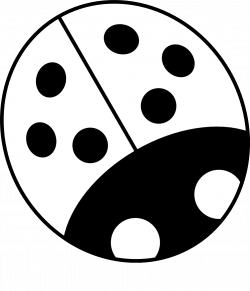 Ladybug Silhouette | Clipart Panda - Free Clipart Images