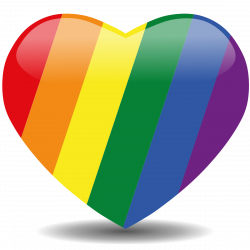 Rainbow heart | Show me the colors | Pinterest | Rainbows, Pride and ...