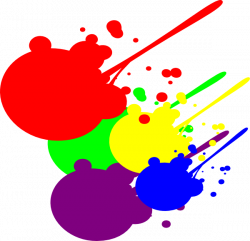 Paint Splatter Clip Art at Clker.com - vector clip art online ...