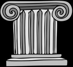 Short Pillar Clip Art at Clker.com - vector clip art online, royalty ...