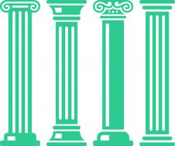 Download ancient pillars clip art clipart Column Clip art ...