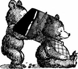 Bear Combing Hair Clip Art at Clker.com - vector clip art online ...