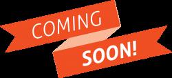 Coming Soon Orange Banner transparent PNG - StickPNG