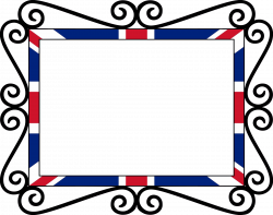 UK Union Flag Frame Fixed Icons PNG - Free PNG and Icons Downloads