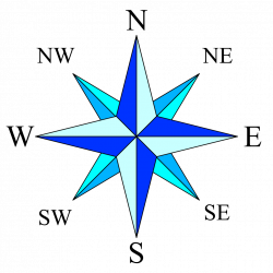 Free Download Of Compass Rose Icon Clipart #29381 - Free Icons and ...