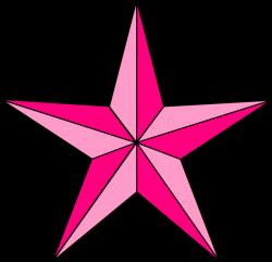 Pink Nautical Star Clip Art at Clker.com - vector clip art online ...