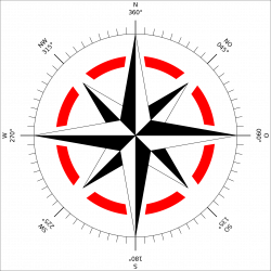 Compass rose with the eight principal winds | Tattoo | Pinterest ...