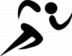 Clipart - Athletics Pictogram