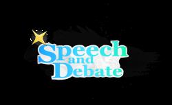 Debate Team Logo - Clipart Vector Illustration •