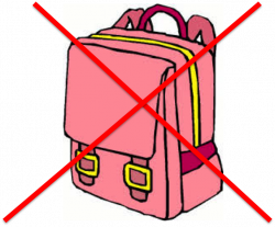 SST Info Hub: New Policy - No Bags Allowed
