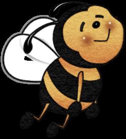 Honeysuckle & Honeybees | Bee clipart and Album