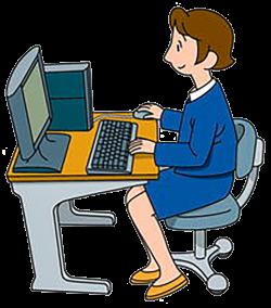 Personal computer Clip art - The computer desk office 859*976 ...