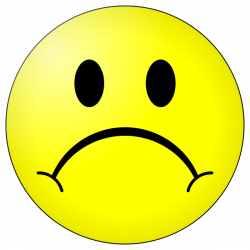 Sad face smiley free download clip art on - ClipartPost