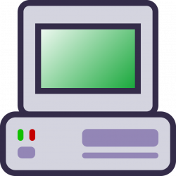 Computer | Free Stock Photo | Illustration of a computer icon | # 15372