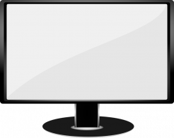 White Background clipart - Computer, Technology, Monitor ...