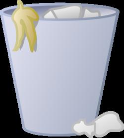 Full Trash Can Clip Art at Clker.com - vector clip art online ...