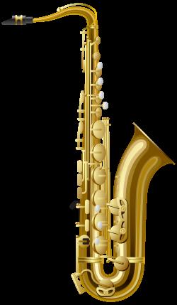 Gold Saxophone PNG Clipart - Best WEB Clipart