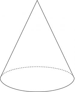 Right Circular Cone | ClipArt ETC