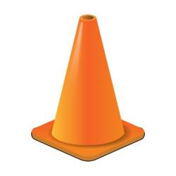 Orange Cone Clipart