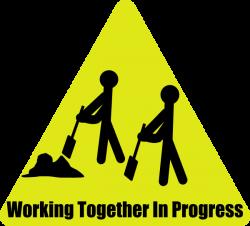 Working Together In Progress Clip Art at Clker.com - vector clip art ...