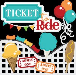 Ticket To Ride | Cuttable Scrapbook SVG Files | Pinterest | Svg file ...
