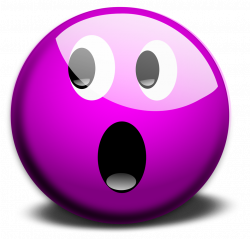 Free Stock Photo: Illustration of a purple smiley face | Transparent ...