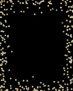 Glitter Gold Confetti Clip art - Confetti 2400*3000 transprent Png ...