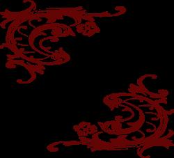 Western Scroll 1 Clip Art at Clker.com - vector clip art online ...