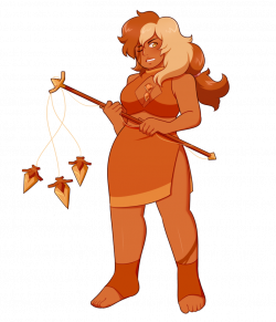 sphalerite, fusion of heliodor and orthoclase :3 her weapon is a ...