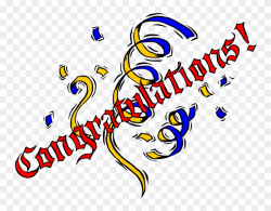 Congratulations Clipart Png - Congratulations Officially ...