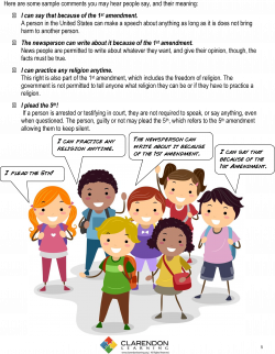 The Constitution Lesson Plan | Clarendon Learning