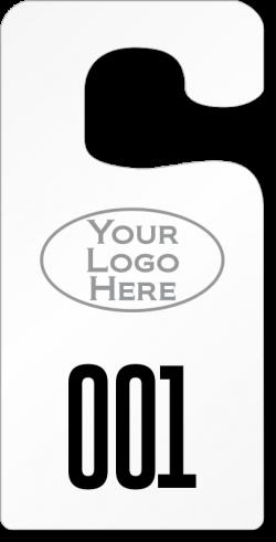 Big Foot Parking Permits - Jumbo Size Hang Tags
