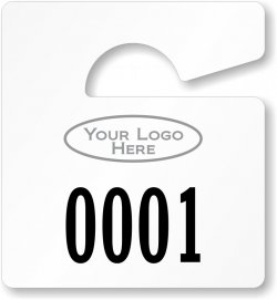Spot-a-Pass™ Large Numbered Parking Permits
