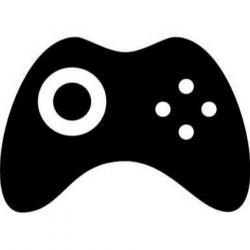 Joystick, Black, Product, Technology, Font, Graphics png ...