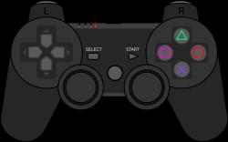 File:PlayStation 3 gamepad.svg - Wikimedia Commons
