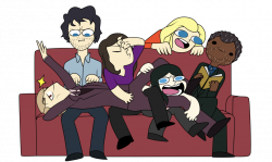 Group of friends by DrugLordIquana on DeviantArt