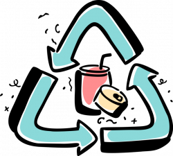 Recycling Aluminum Cans - Vector Image