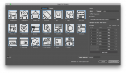 How to export vector icons to multiple sizes and formats in Adobe ...