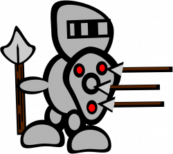 Clipart - knight