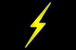 Lighting Bolt Clipart - Democraciaejustica