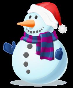 Clipart - Snowman Shaded