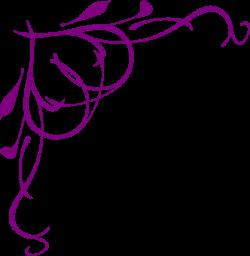 Purple Heart Corner Clip Art at Clker.com - vector clip art online ...