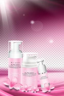 Three Lalize Carita Levisage bottles, Lotion Cosmetics Model ...