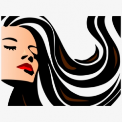 Long Hair Clipart Women's Hair - Beauty Salon #353295 - Free ...