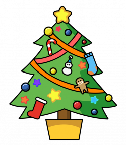 Christmas Tree Clipart Free at GetDrawings.com | Free for personal ...