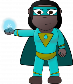 Aqua Hero Full by ginkgo | Multicultural images for K-16 teaching ...