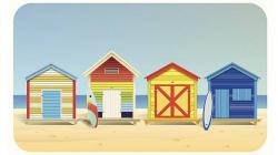 Shack Clipart Beach Cottage | Beach House Clipart - ClipartUse