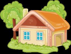 House Cartoon Log cabin - Cartoon house 4124*3174 transprent Png ...